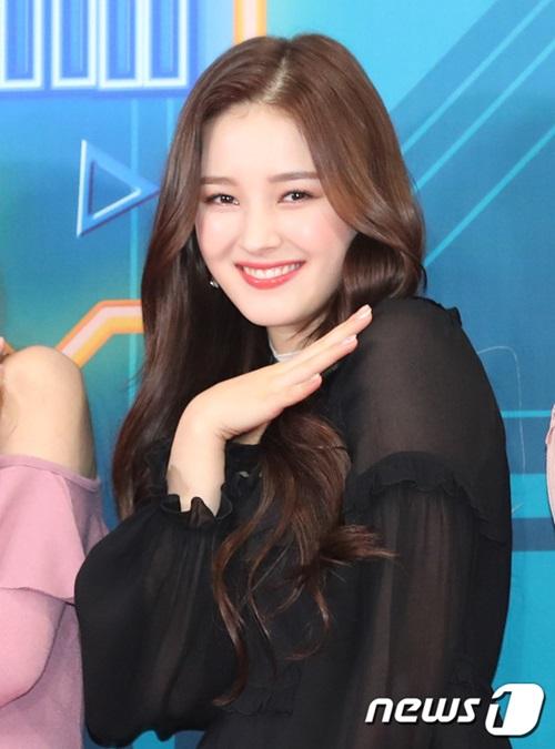 Nancy là một trong những ngôi sao mới nổi trong năm 2018 nhờ vẻ đẹp lai.