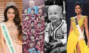 Những nhân vật truyền cảm hứng sống tích cực năm 2018