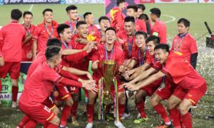 Báo châu Á ca ngợi bóng đá Việt Nam là 'Vua Đông Nam Á'