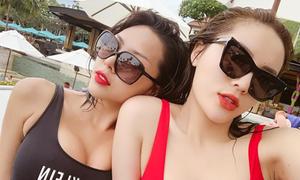Kỳ Duyên - Minh Triệu nhiều lần mặc 'đồ đôi'
