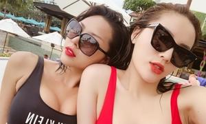 Minh Triệu bất ngờ với tin đồn yêu đồng tính Hoa hậu Kỳ Duyên