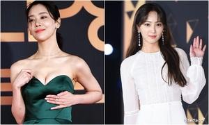 KBS Drama Awards 2018: Cha Joo Young 'giữ ngực' vì hớ hênh, Han Ji Hye đẹp không tuổi