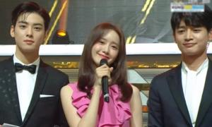 Yoon Ah đứng giữa Min Ho và Cha Eun Woo: 'Cực phẩm' visual Kpop là đây