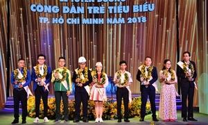 9 gương mặt được vinh danh 'Công dân trẻ tiêu biểu TP HCM 2018'