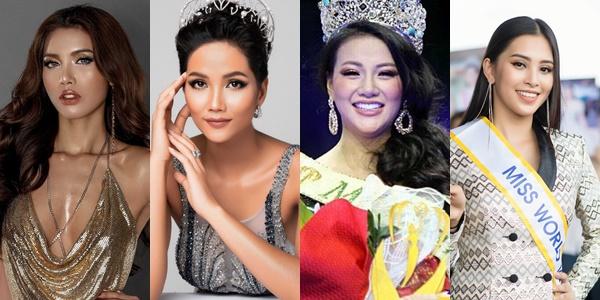 4 mỹ nhân Việt lọt đề cử Hoa hậu đẹp nhất năm 2018.