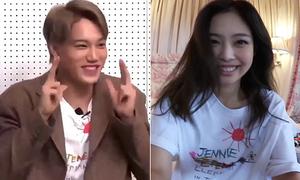 Jennie - Kai từng 'mặc chung' áo hiệu nhưng ít ai nhận ra