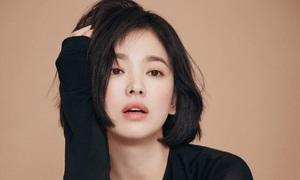 Ai nghĩ Song Hye Kyo để tóc ngắn là 'bước lùi nhan sắc' thì nên xem bộ ảnh này