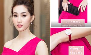 Hoa hậu Thu Thảo: Váy 45 triệu đồng, phụ kiện hơn 700 triệu