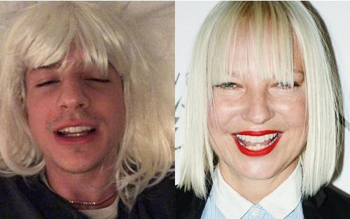 Có một gương mặt đẹp trai thuộc hàng nam thần nhưng chủ nhân hit We dont talk anymore lại không biết sử dụng. Anh chàng trông không khác gì nữ ca sĩ Sia phiên bản... chưa cạo râu.
