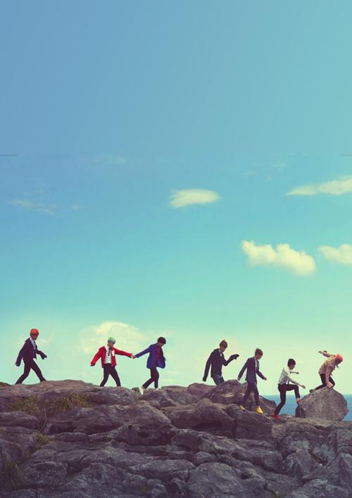 Các chàng trai BTS của tôi.