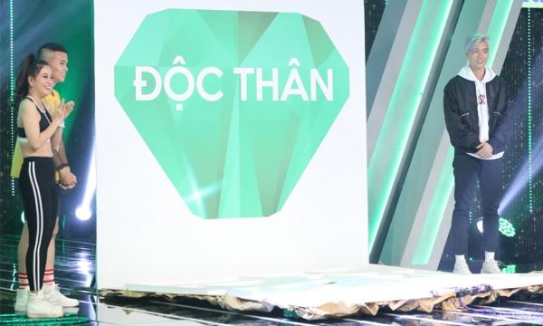 Brian Trần xuất hiện với thân phận độc thân.