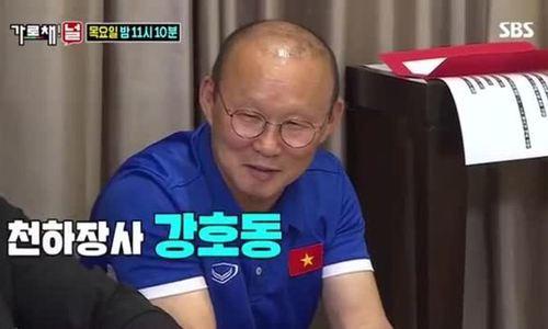 HLV Park Hang-seo chia sẻ trong show thực tế Hàn.