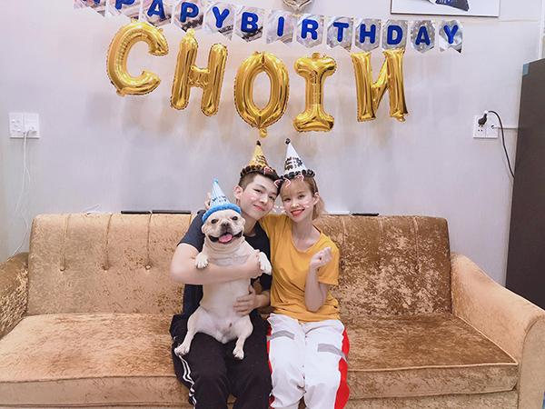 Khởi My - Kelvin Khánh tổ chức sinh nhật cho cún cưng lên 3 tuổi.