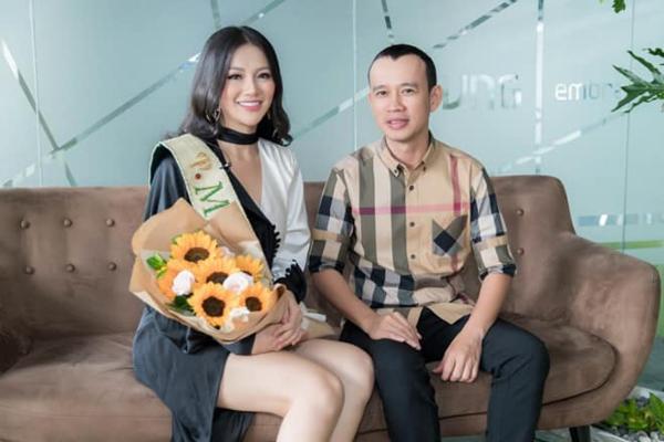 Chuyên gia đào tạo Phúc Nguyễn và Phương Khánh.