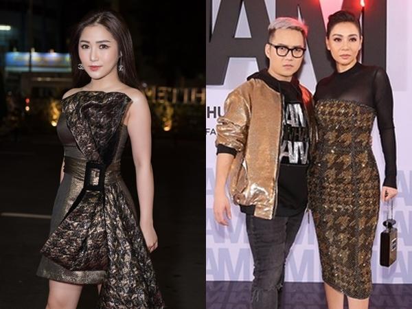 Hương Tràm và Thu Minh xuất hiện trong show diễn I am what I am của Chung Thanh Phong.