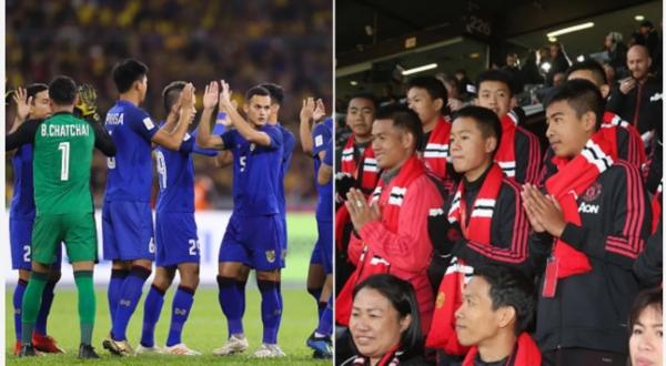 Đội bóng nhí Lợn Hoang đến cổ vũ đội tuyển Thái Lan trong trận mở màn Asian Cup 2019 - 1