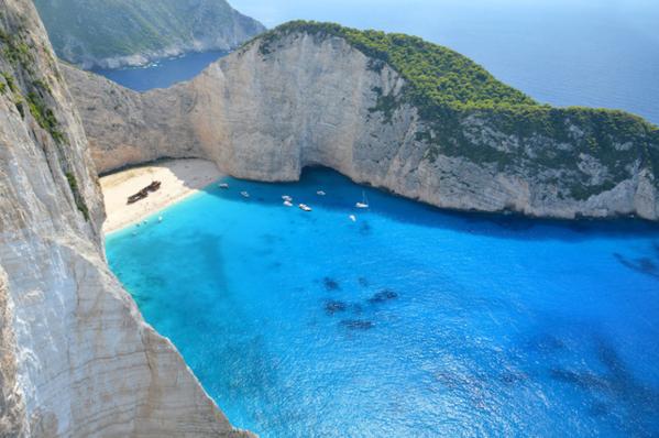 Bãi biển đẹp nhất thế giới năm 2018, Shipwreck, Hy Lạp.