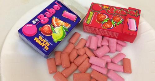 Món kẹo cao su kinh điển, nhai cả ngày vẫn không hết... ngọt.