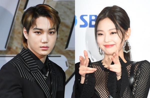 Kai - Jennie: cặp idol hot nhất Kpop hiện nay.