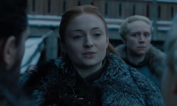 [Câu nói Winterfell is yours, your grace khiến khán giả không khỏi hoài nghi đây chỉ là kế hoãn binh của Sansa Stark]