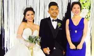Hari Won gợi cảm đến chúc mừng đám cưới MiA