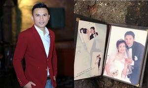 Bị nghi 'vứt ảnh cưới với Thúy Hiền ra đường', Tú Dưa giải thích
