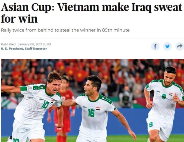 CĐV châu Á: Việt Nam thi đấu quá ấn tượng