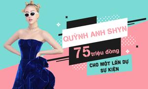 Quỳnh Anh Shyn: 75 triệu đồng cho một lần đi sự kiện