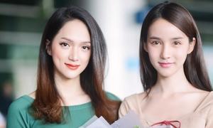 Hoa hậu Hương Giang đón 'Thiên thần chuyển giới' Thái đến Việt Nam
