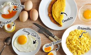 Trắc nghiệm: Hiểu rõ con người bạn 'như lòng bàn tay' qua món trứng ưa thích