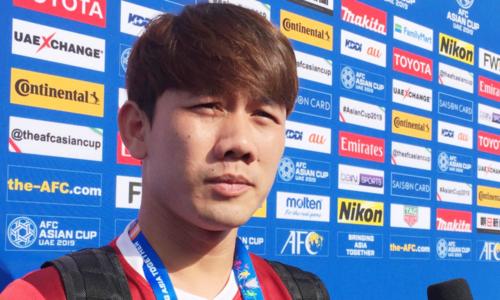 Cầu thủ Minh Vương.