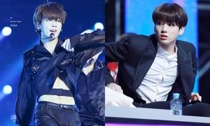 'Số phận' tội nghiệp của những chiếc nút áo trên người Jung Kook (BTS)