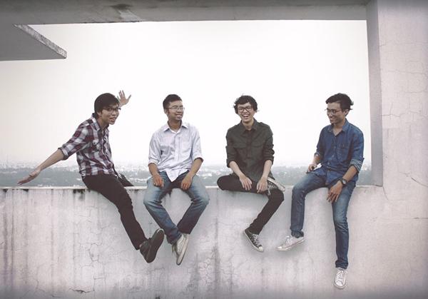 Cá Hồi Hoang là ban nhạc rock trẻ đang được yêu thích.