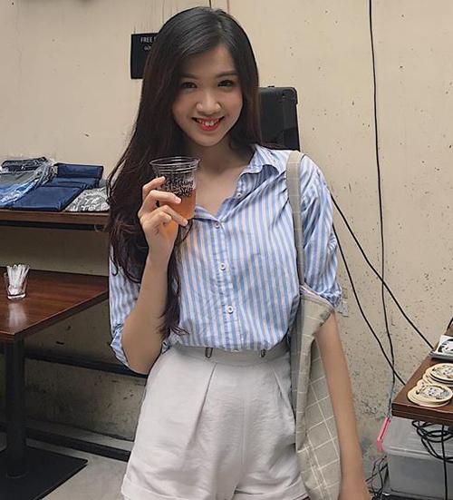 Nhan sắc ngọt ngào của Hoa hậu chuyển giới Việt Nam - 7