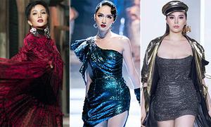 4 hoa hậu đắt show làm vedette sàn catwalk năm 2018