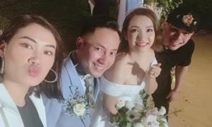Tiến Đạt sáng tác rap tặng vợ trong đám cưới