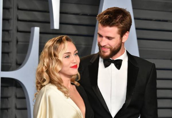 Miley - Liam: cặp sao có chuyện tình được nhiều fan ngưỡng mộ.