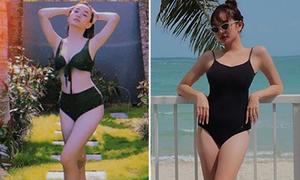 Kaity Nguyễn: 'Ba mét bẻ đôi' nhưng dáng đẹp miễn chê