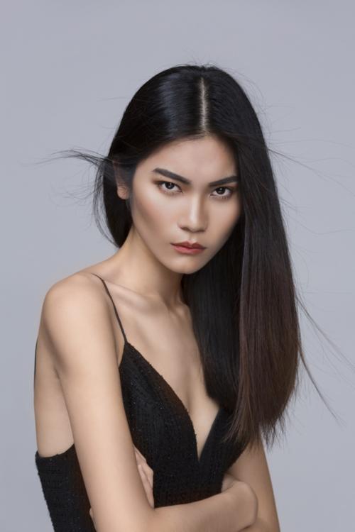 Quán quân Next Top Model 2017 - Kim Dung.