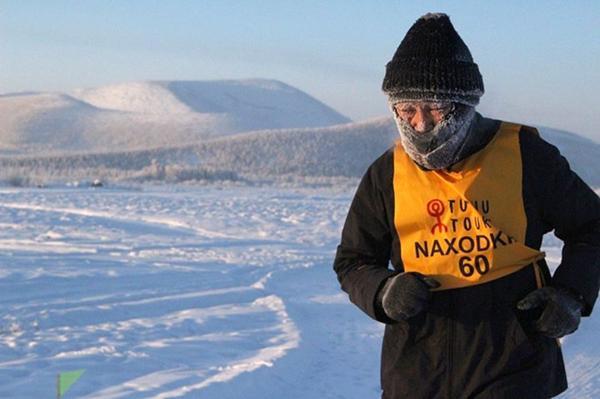 Cuộc thi chạy dưới cái lạnh -52 độ khắc nghiệt nhất thế giới - 1