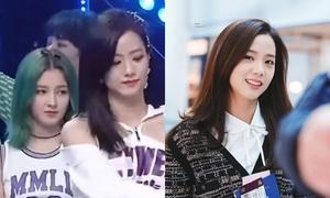 Năm ngoái còn 'liếc xéo' Black Pink, năm nay Nancy đã khen ngợi Ji Soo hết lời