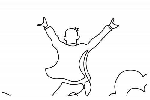 Trắc nghiệm: Giải mã tâm trạng và tính cách bạn qua bức tranh người đàn ông