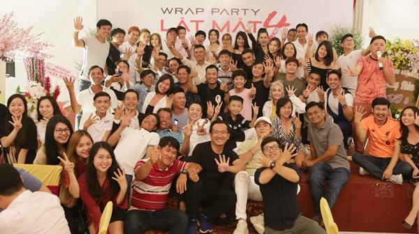 Bối cảnh chính của phim được thực hiện tại Đà Lạt, Đồng Nai, TP HCM. Trong tiệc đóng máy mới đây, Lý Hải công bố Lật mặt 4 sẽ có chủ đề Nhà có khách. Đây là kịch bản do chính Lý Hải chắp bút, thuộc thể loại ma hài.