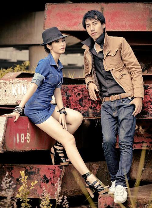 Khổng Tú Quỳnh và Only C từ 10 năm trước đã có phong cách rất sành điệu.