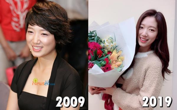 Hình ảnh Park Shin Hye tóc ngắn tomboy ngày nào nay đã không còn, thay vào đó là mộtmỹ nhân dịu dàng đằm thắm.