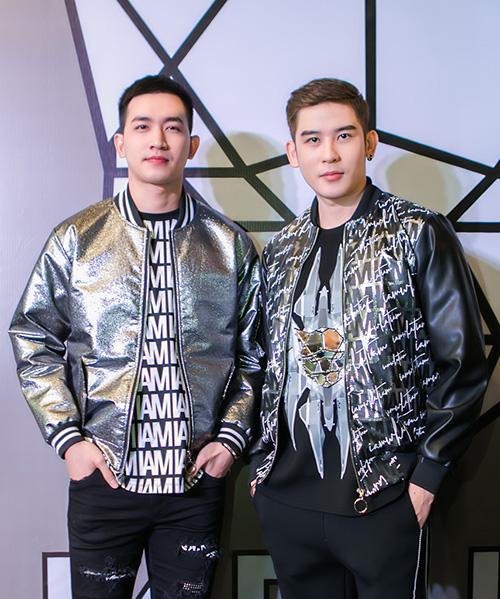 Người mẫu Võ Cảnh gây ấn tượng nhờ set đồ phong cách thể thao mang hơi thở đường phố.