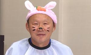 Thầy Park bị vẽ mặt mèo khi tham gia gameshow