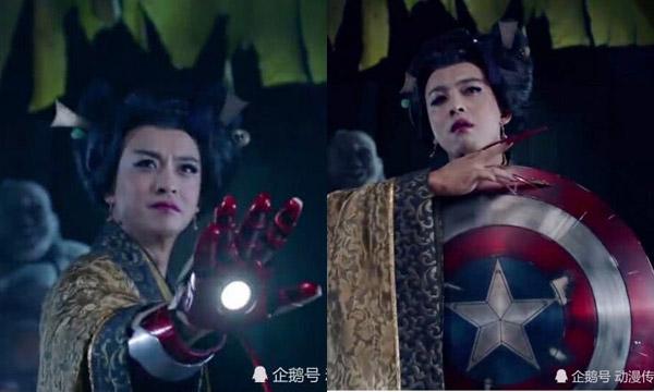 Các siêu anh hùng đến từ Marvel đã được chế biến như thế này.