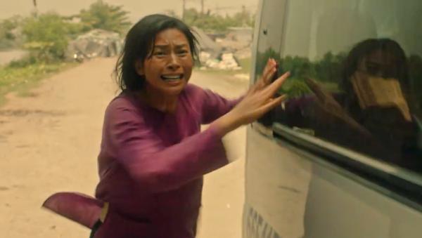 Những pha hành động của Ngô Thanh Vân trong phim.