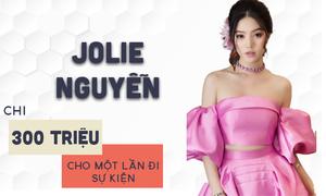 Jolie Nguyễn chiếm spotlight nhờ đầu tư 300 triệu đồng đi sự kiện